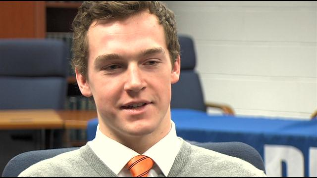 Dillon Fletcher: February WBOC/Mountaire Farms Scholar Athlete Award Winner