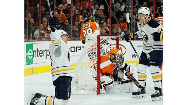 Flyers Lose 4-3 in OT to Buffalo