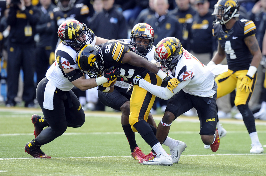Stopping The Run Is Key For Terps At Wisconsin