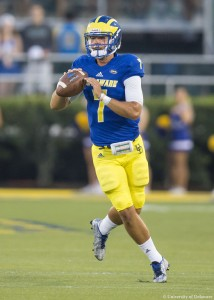 Blake Rankin has not played in six of the last seven games (courtesy bluehens.com)