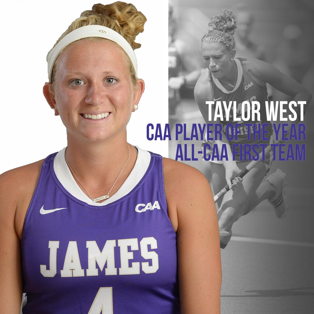 Pocomoke Grad Taylor West Named CAA Player of the Year