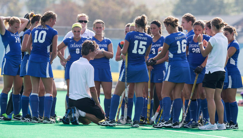 Delaware Field Hockey Claims Third Straight CAA Championship