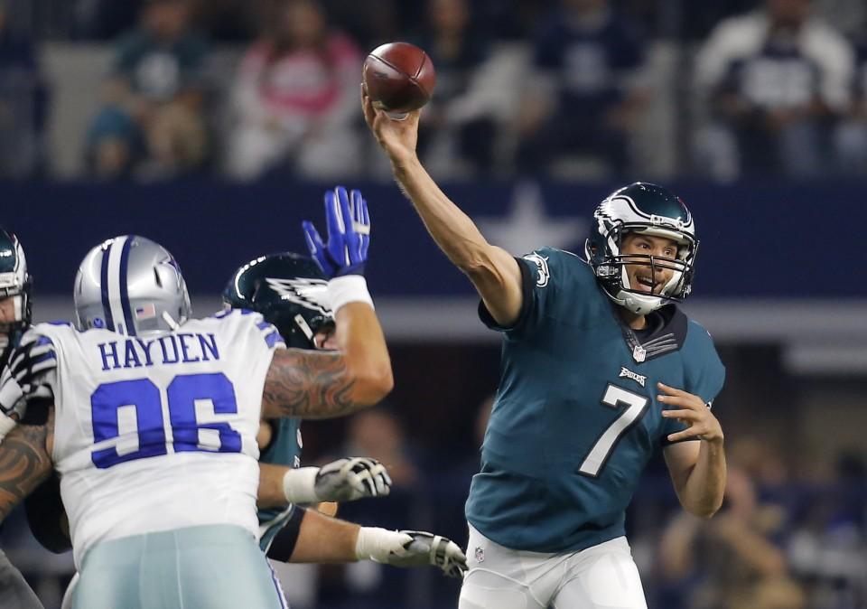 Eagles OT Win Over Dallas Evens Record at 4-4