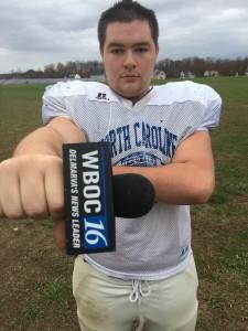 Bryan Mehaffey, NC Defensive Tackle