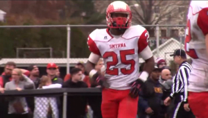 Smyrna running back Will Knight is the 2015 Delaware High School Offensive Player of the Year.