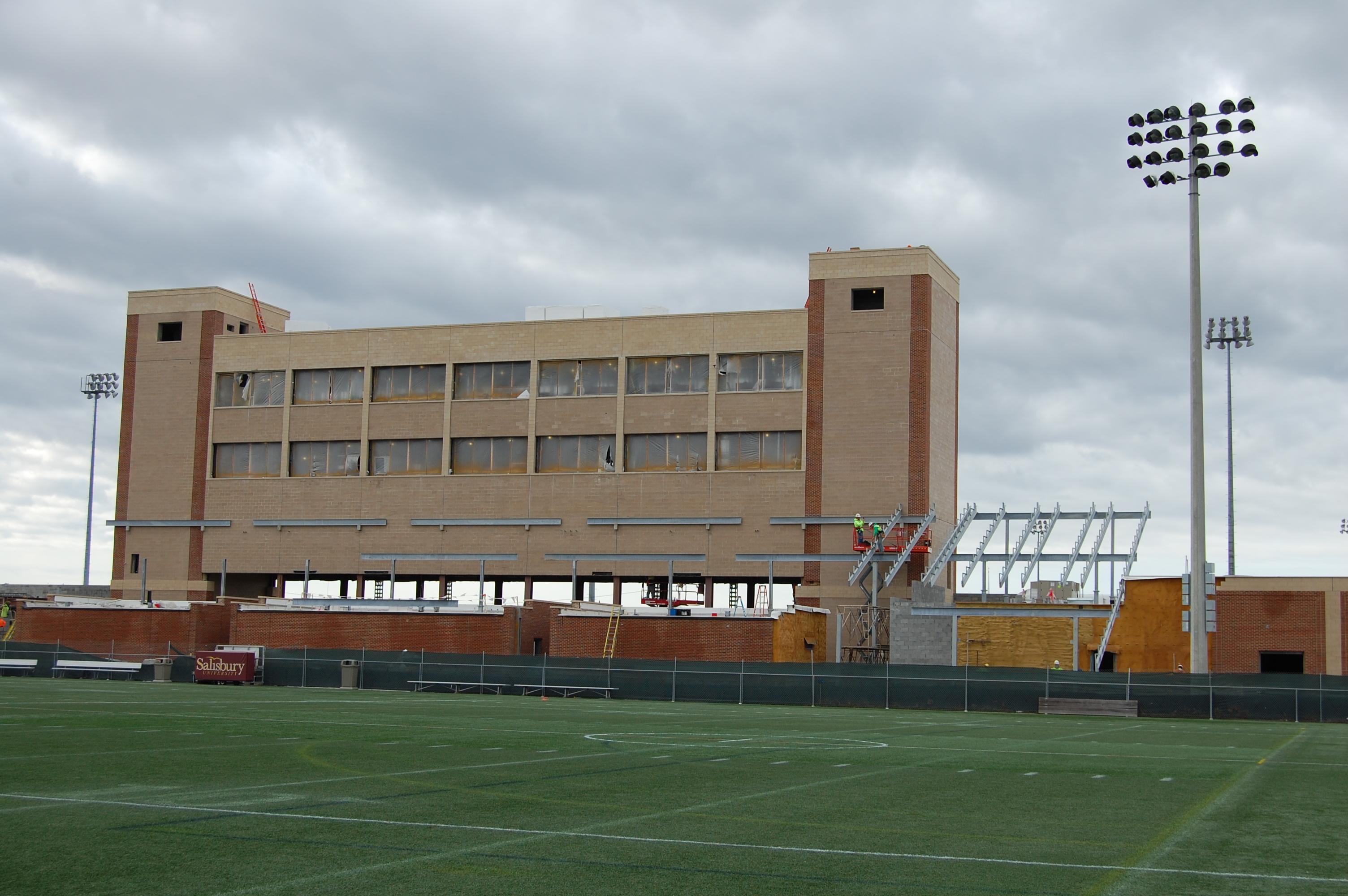 Salisbury University to Complete Sea Gull Stadium Spring 2016