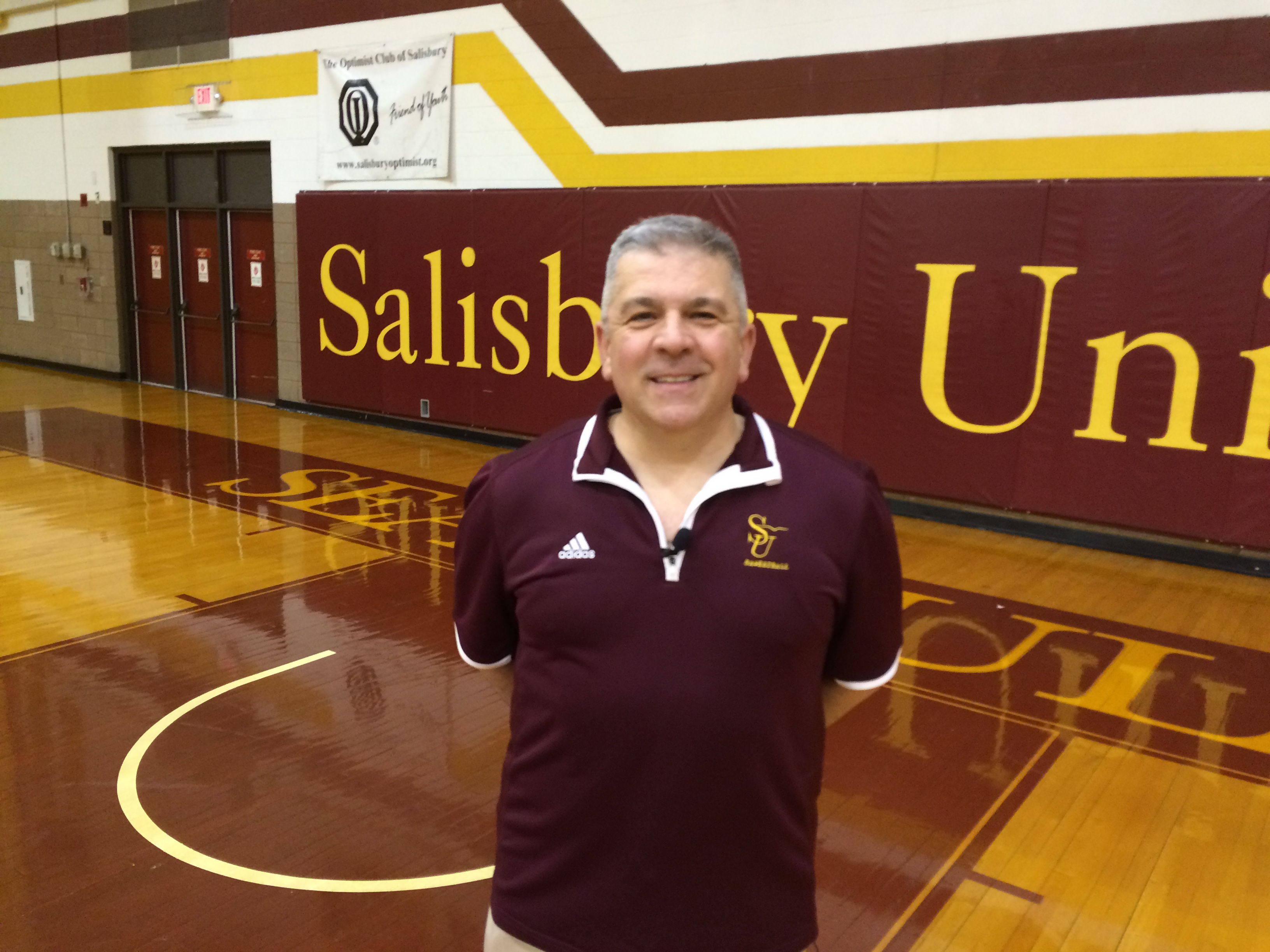 Interview of the Week – Salisbury Basketball Coach Andrew Sachs