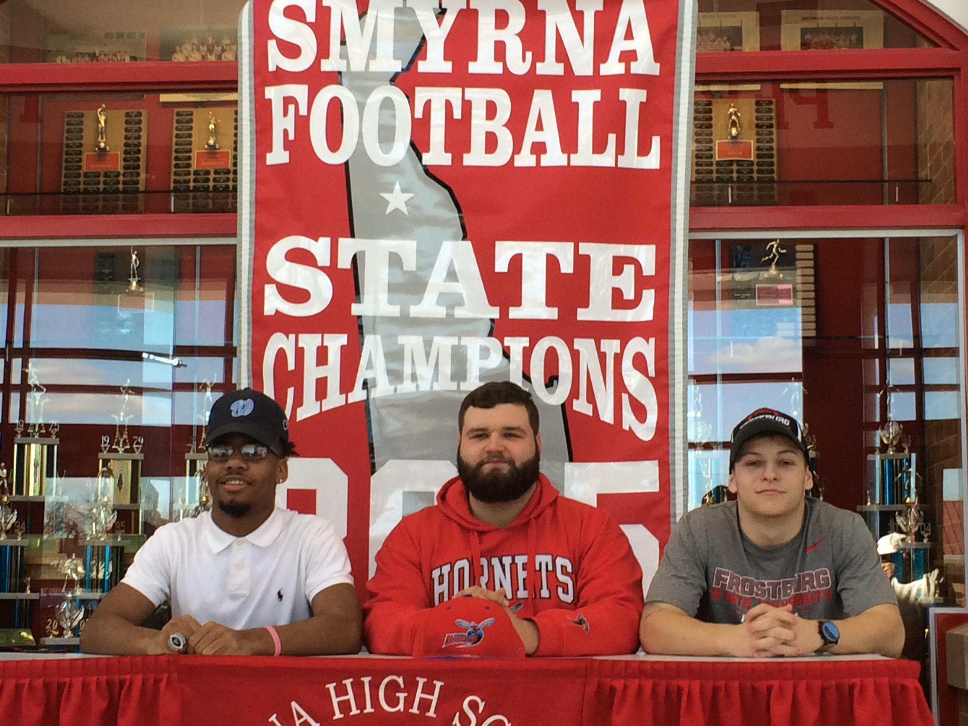 Smyrna High School Football Signing Day