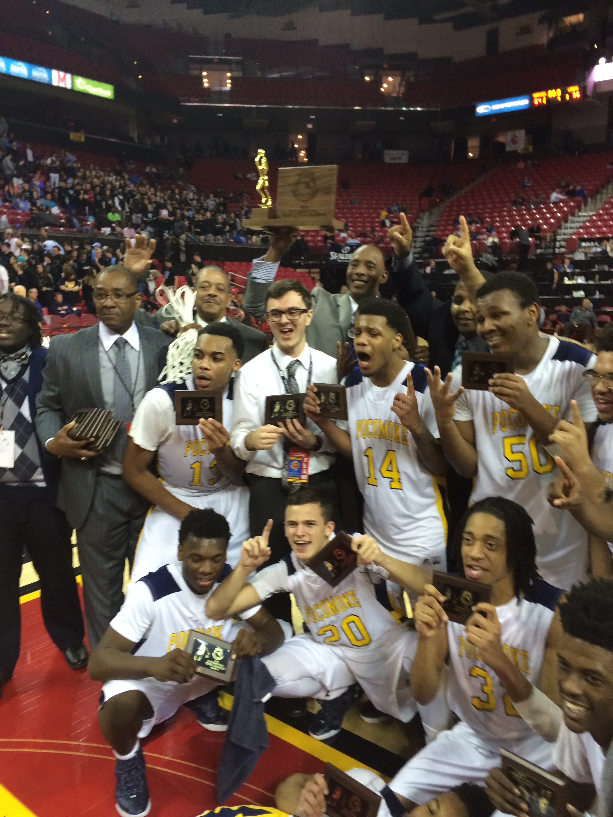 Success From The Free Throw Line – Key In Pocomoke's Championship