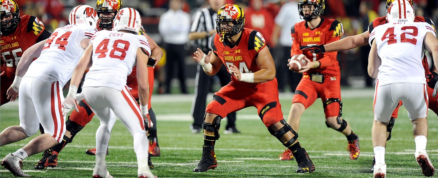 Maryland Center Brendan Moore Added to Rimington Trophy Watch List.