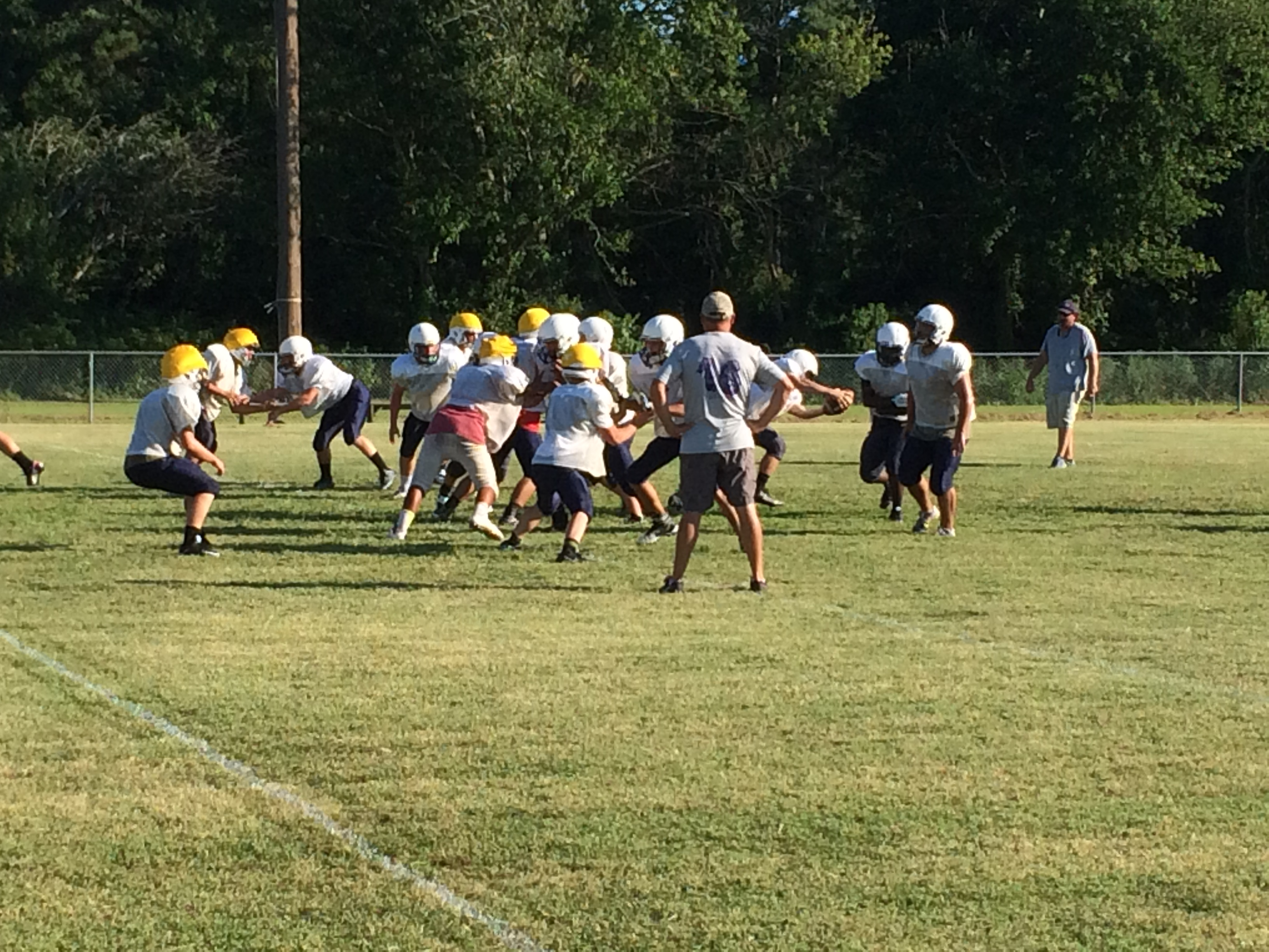 Injuries Force Changes to Chincoteague's Offense