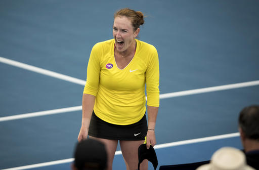 Dover's Brengle Upsets Serena Williams