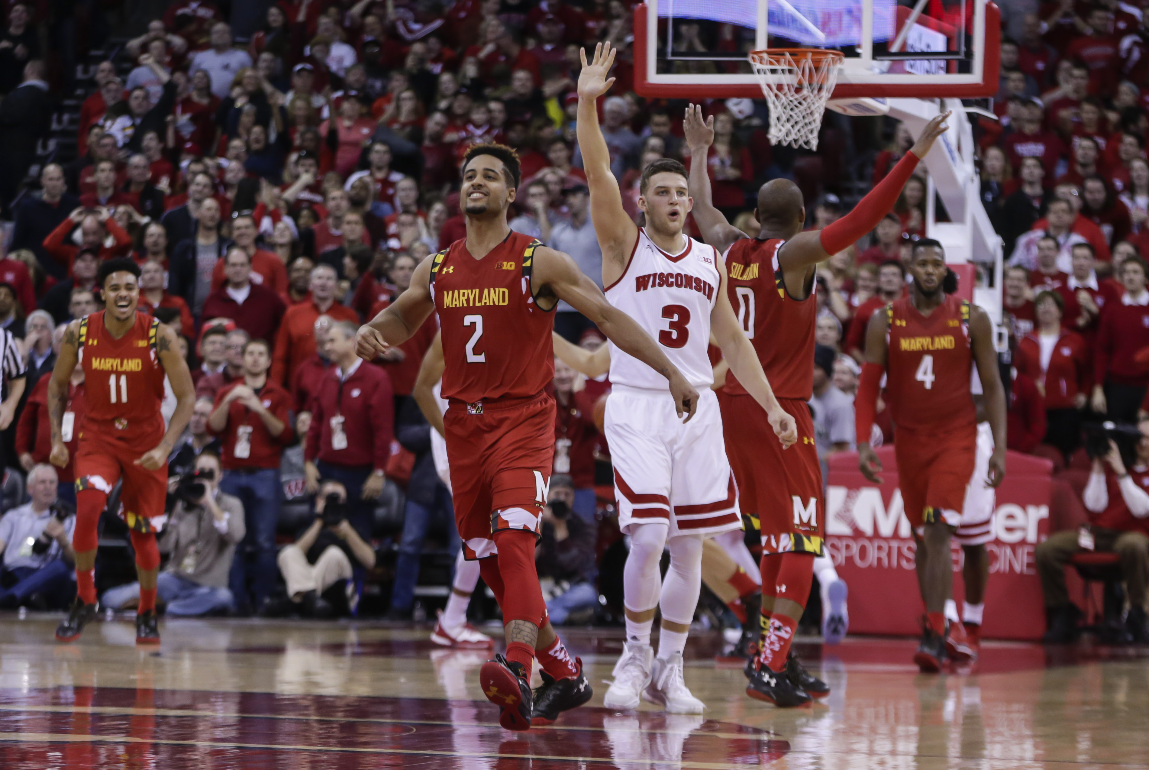 Trimble Leaves Maryland For NBA Draft