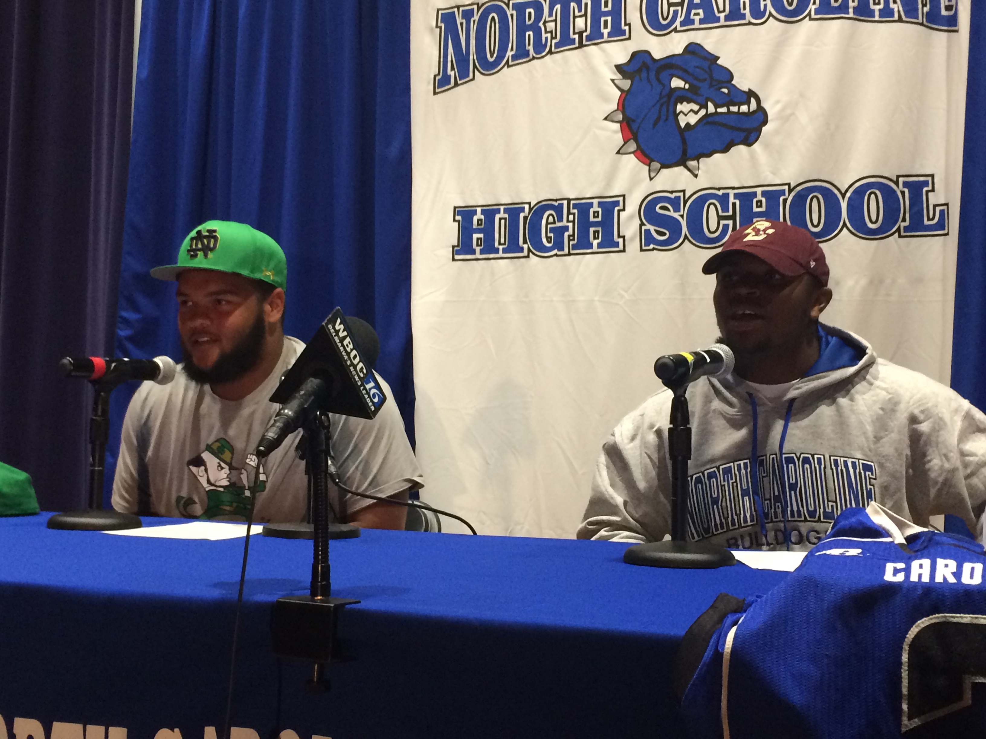 Two To The FBS For North Caroline Football