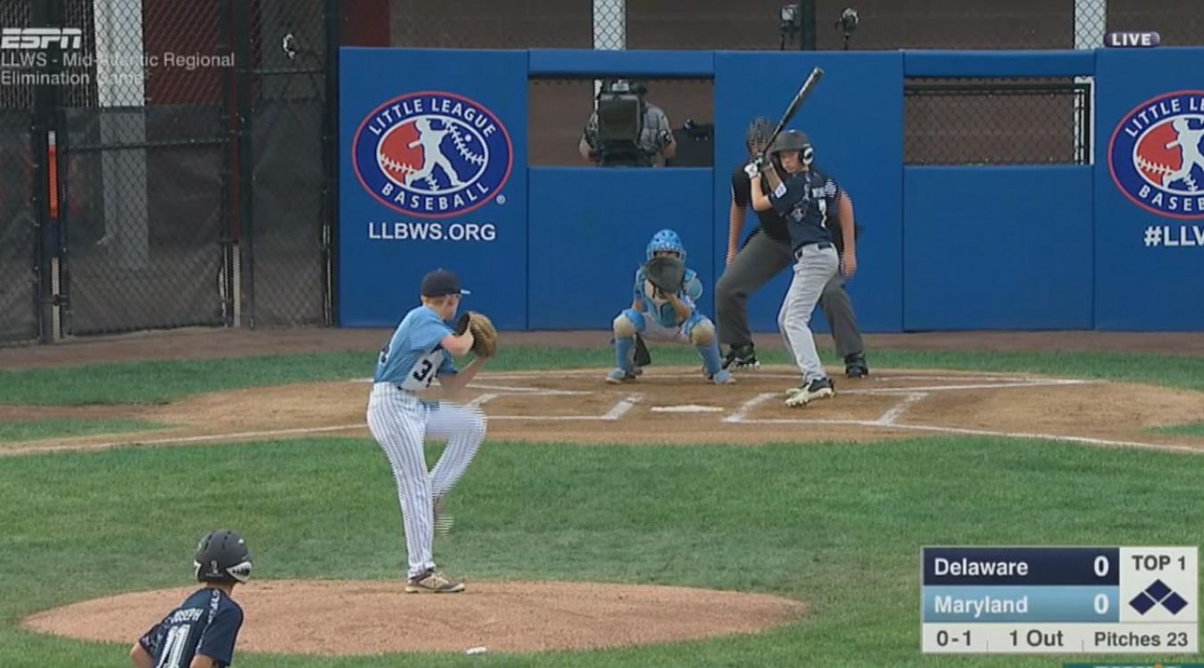 Delaware Eliminated From Mid-Atlantic Little League Regional