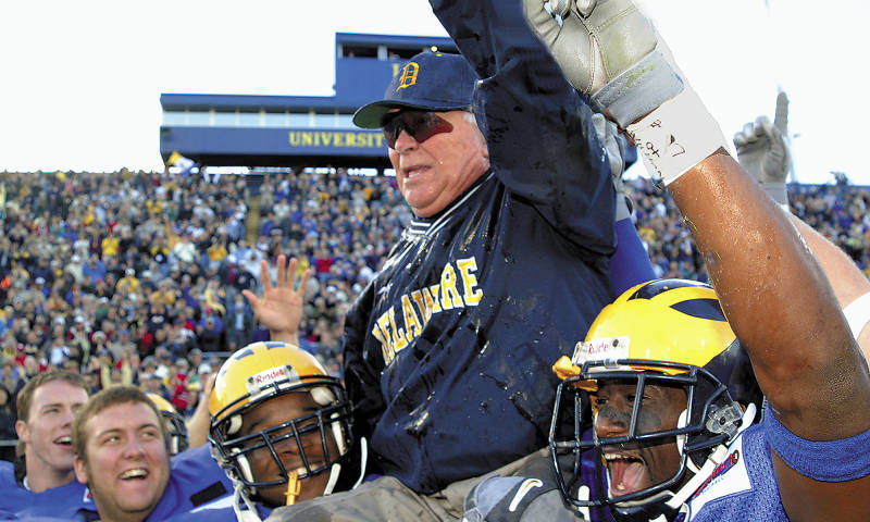 Legendary Delaware Head Coach Tubby Raymond Passes Away At Age 92