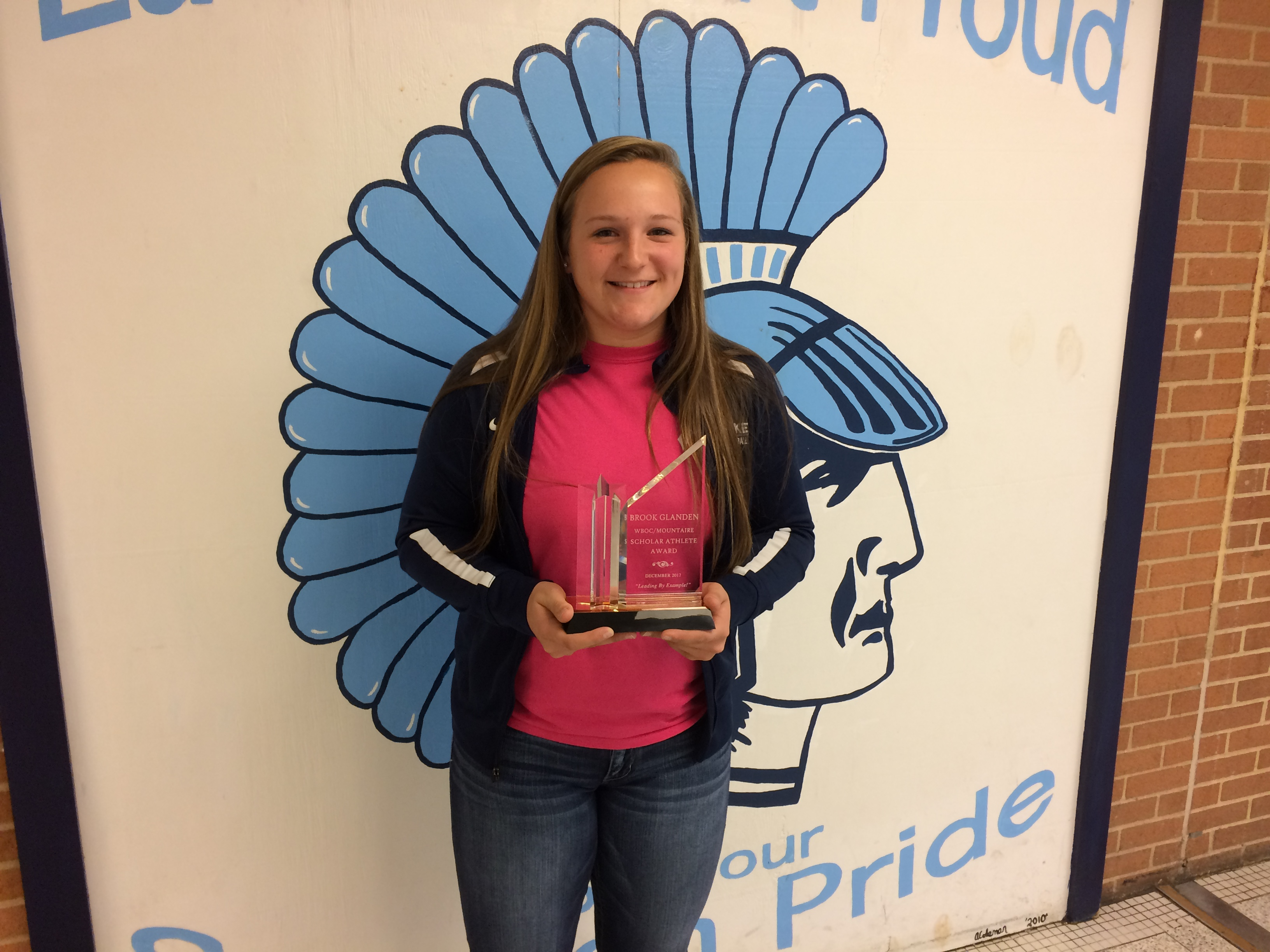 WBOC Mountaire Farms December Scholar Athlete of the Month – Brooke Glanden Of Lake Forest