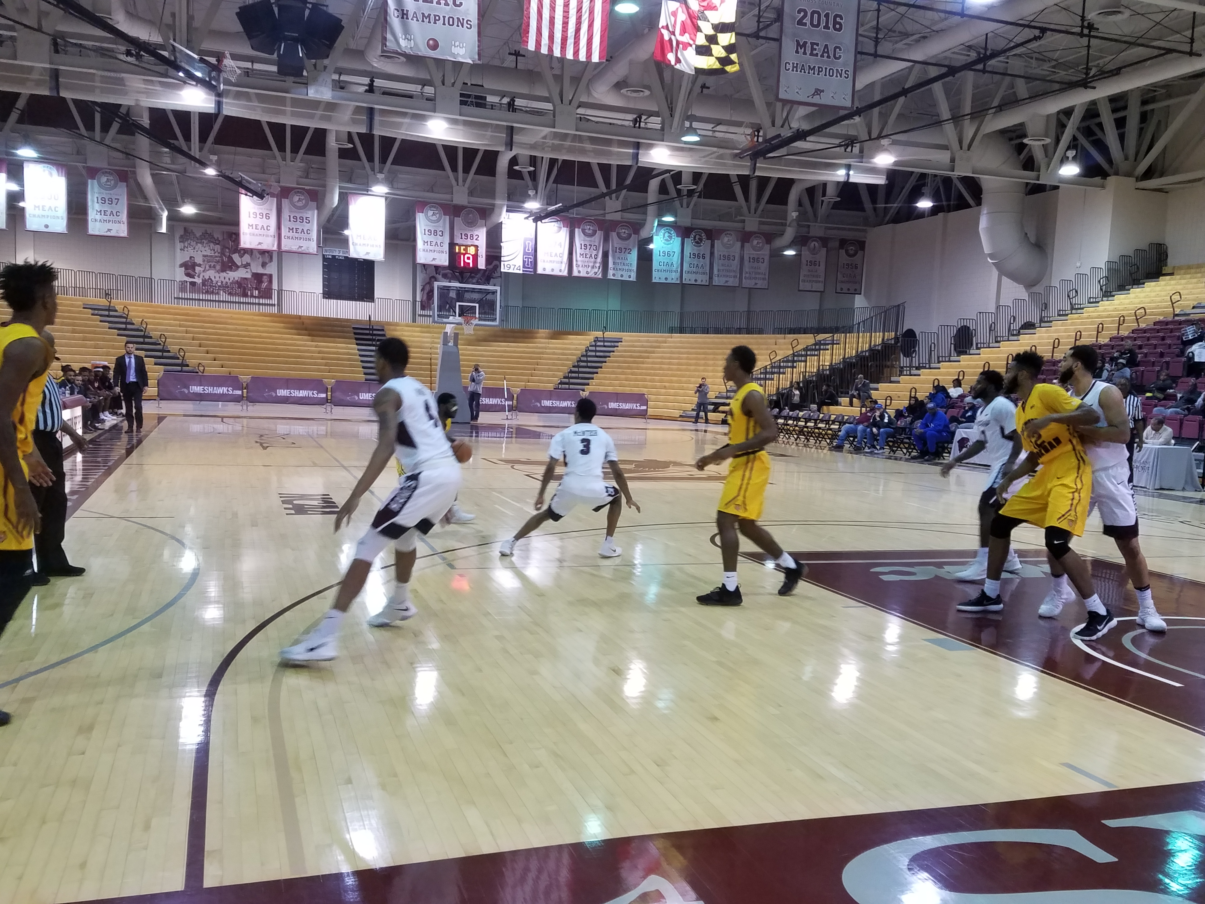 Eastern Shore Drops MEAC Game At South Carolina State
