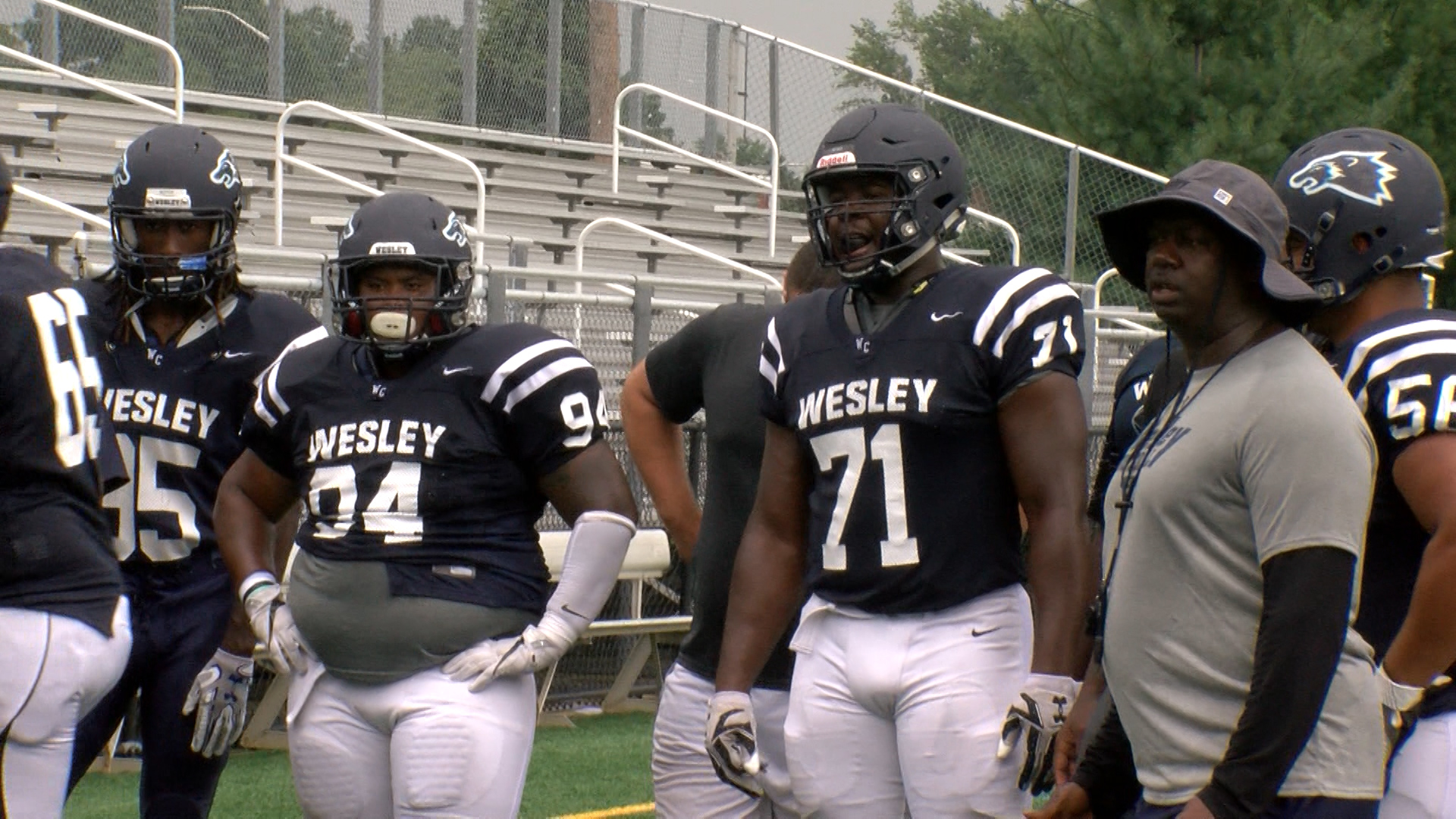 Wesley's Gono Hopes To Impress NFL Scouts