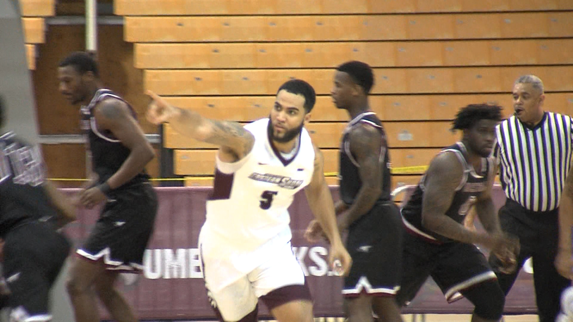 Shore Drops Fifth Straight MEAC Game