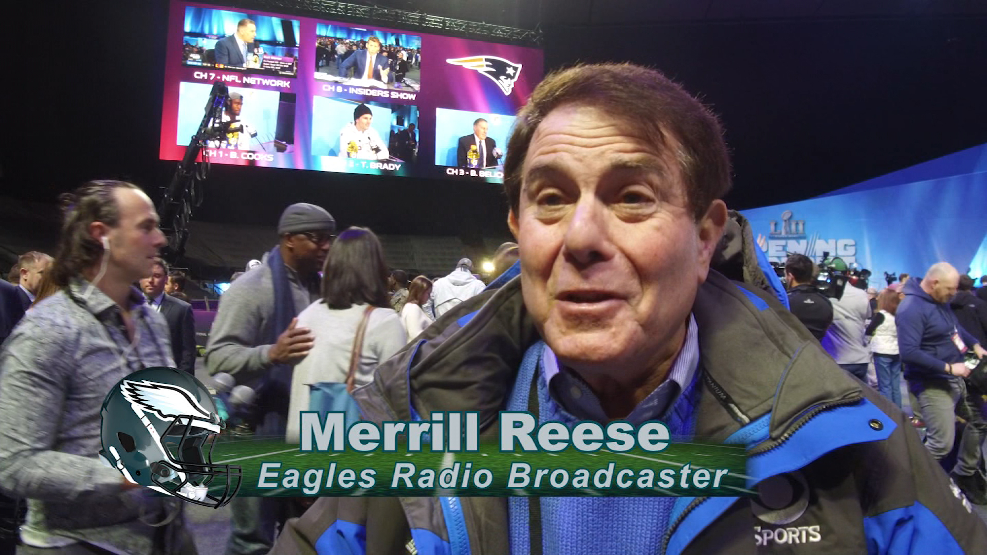 Super Bowl LII: Merrill Reese, Voice of the Eagles