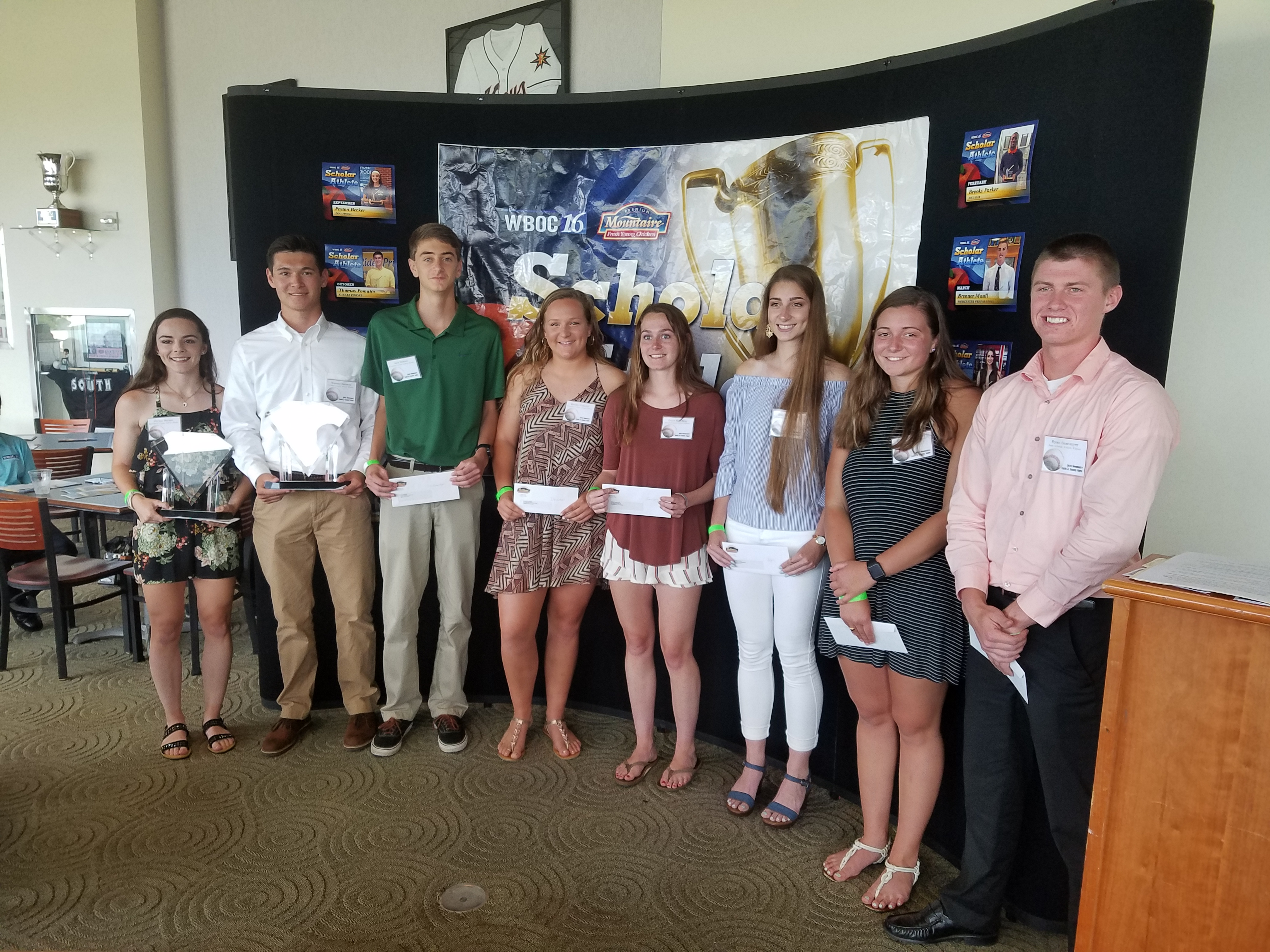 Scholar Athletes Honored At Annual Banquet