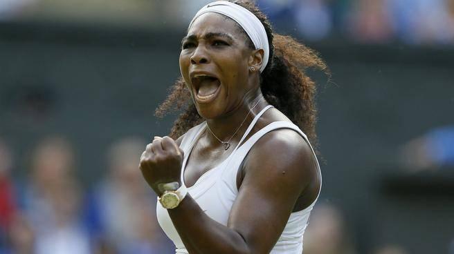 Serena Williams Advances At Wimbledon