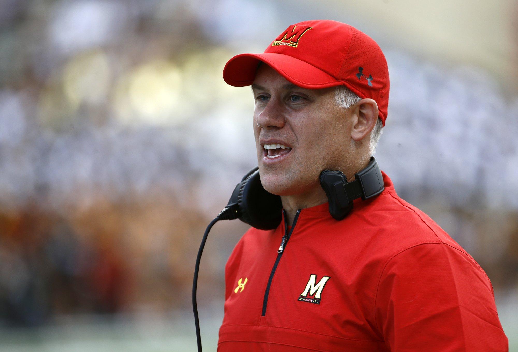 Maryland Fires Coach DJ Durkin Day After Reinstatement