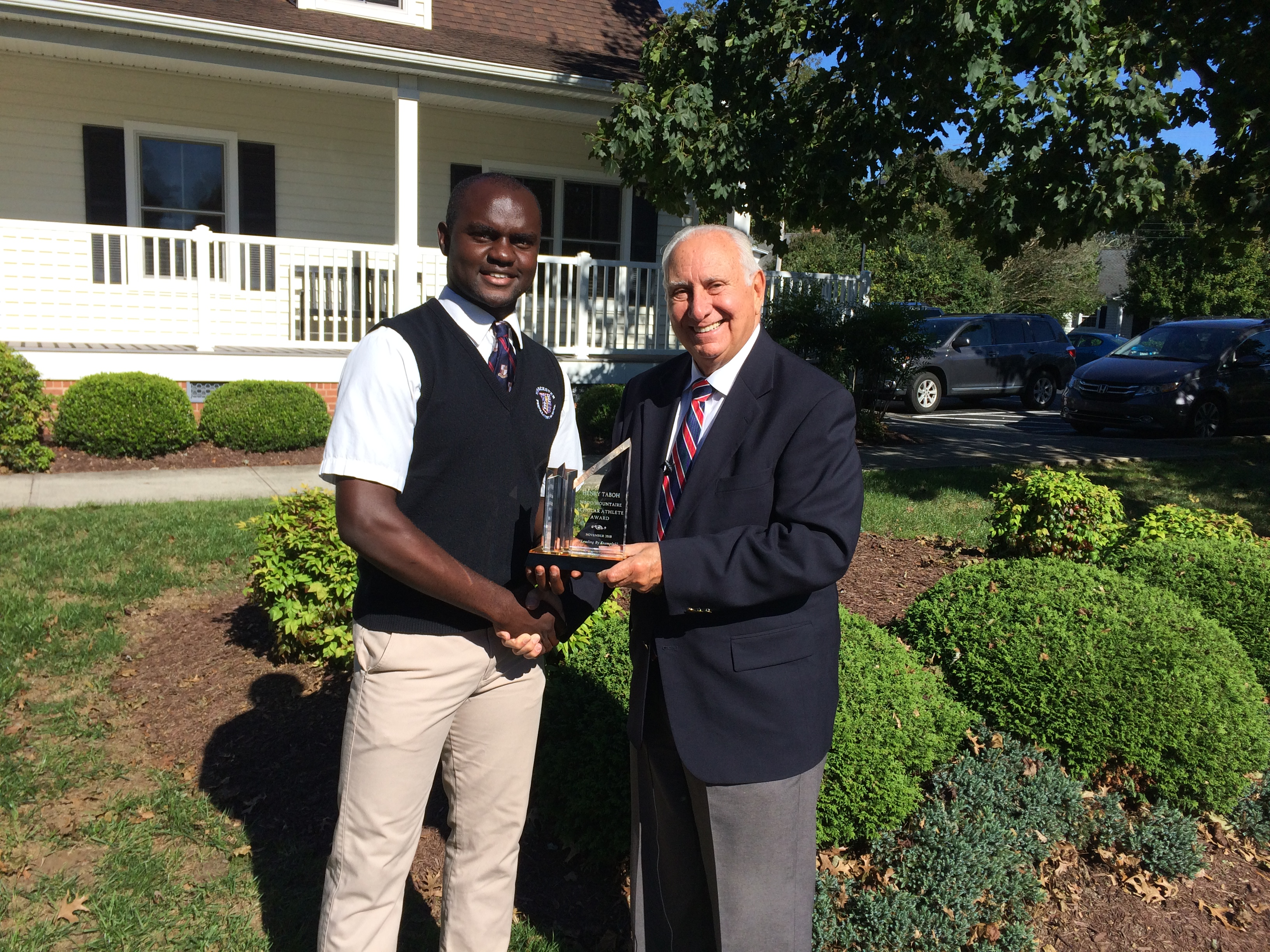 WBOC Mountaire Farms November Scholar Athlete Of The Month – Worcester Prep's Henry Taboh