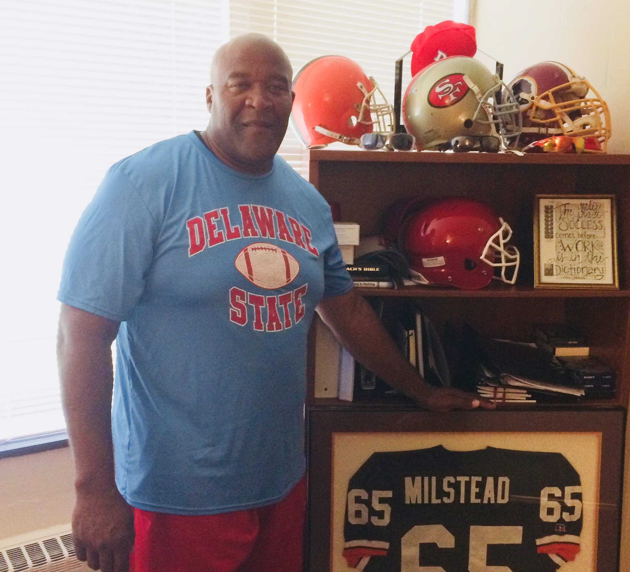 From Delaware State To NFL Champion – Milstead's Connection To The Super Bowl