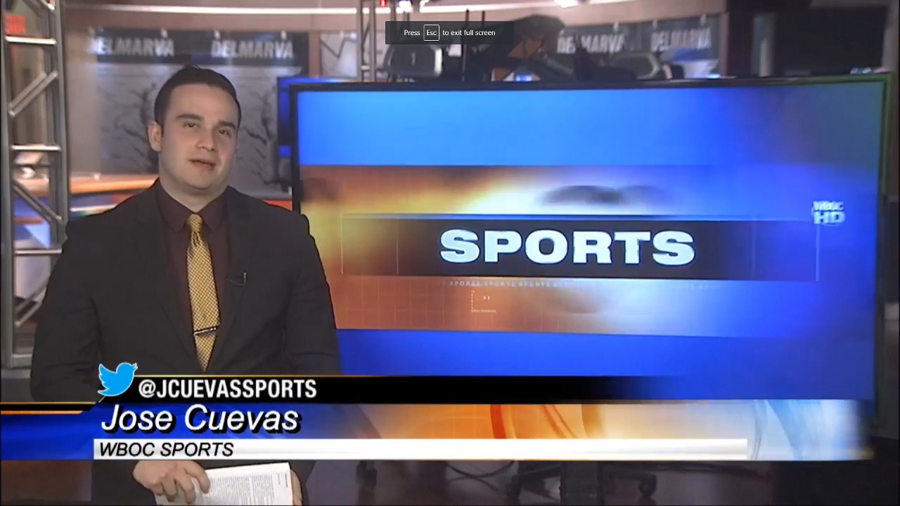 WBOC Sports Report – Thursday March 7, 2019