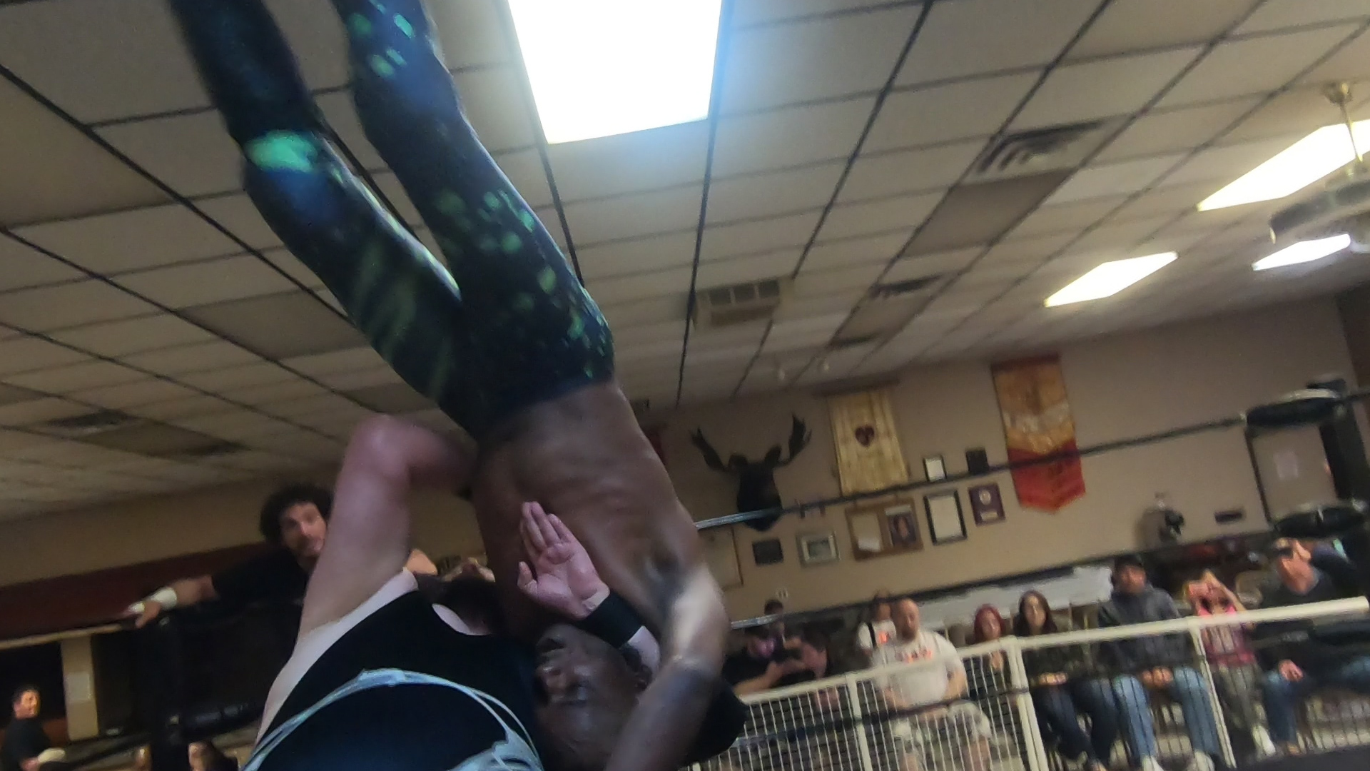 Pro Wrestlers Grapple to Send Girl Scouts to the Happiest Place on Earth
