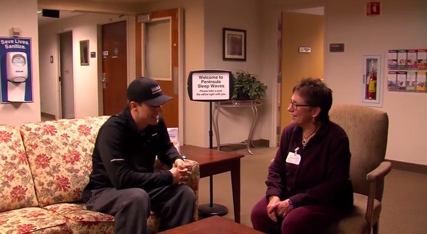 Sleep Study at the Sleep Center with Linda Hurley – Monday, February 2, 2015