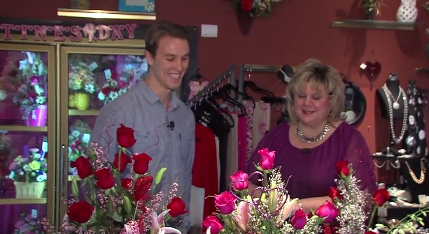 What Flowers Say – Kitty's Flowers and Valentine's Day – Wednesday, February 11, 2015