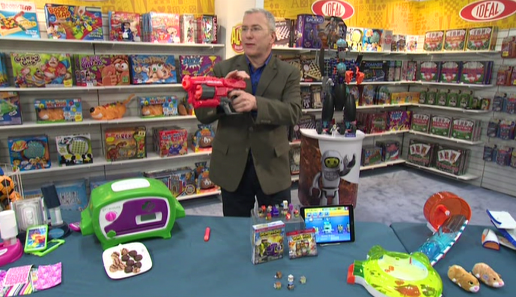 "Toy Fair with ""The Toy Guy"""