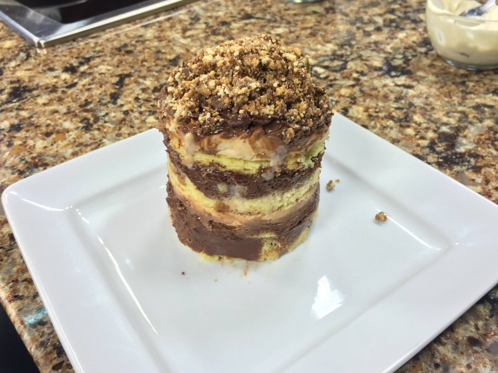 """Tagalong"" Layer Cake with Chef Nino Mancari of Catch 54"