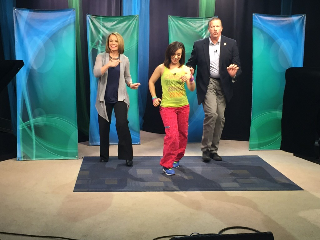 Zumba Lessons – Brittany Cooper – Tuesday, February 24, 2015