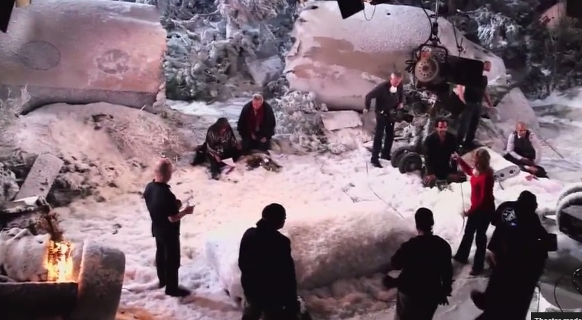 Y&R: Behind the Scenes of the Plane Crash – Wednesday, February 25, 2015