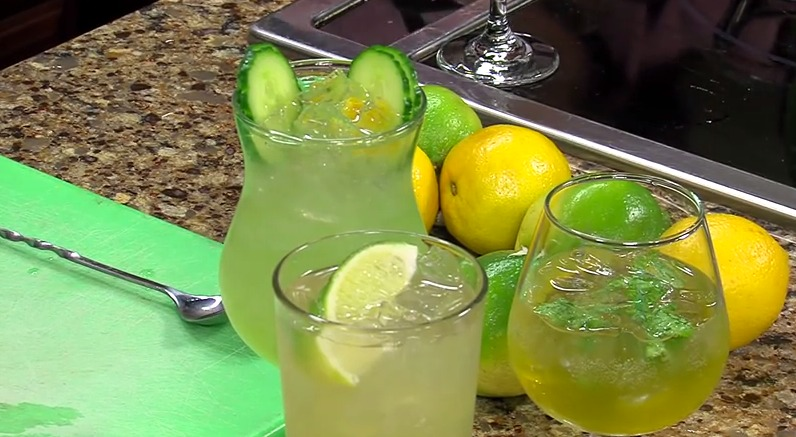 St. Patrick's Day Cocktails with Nage