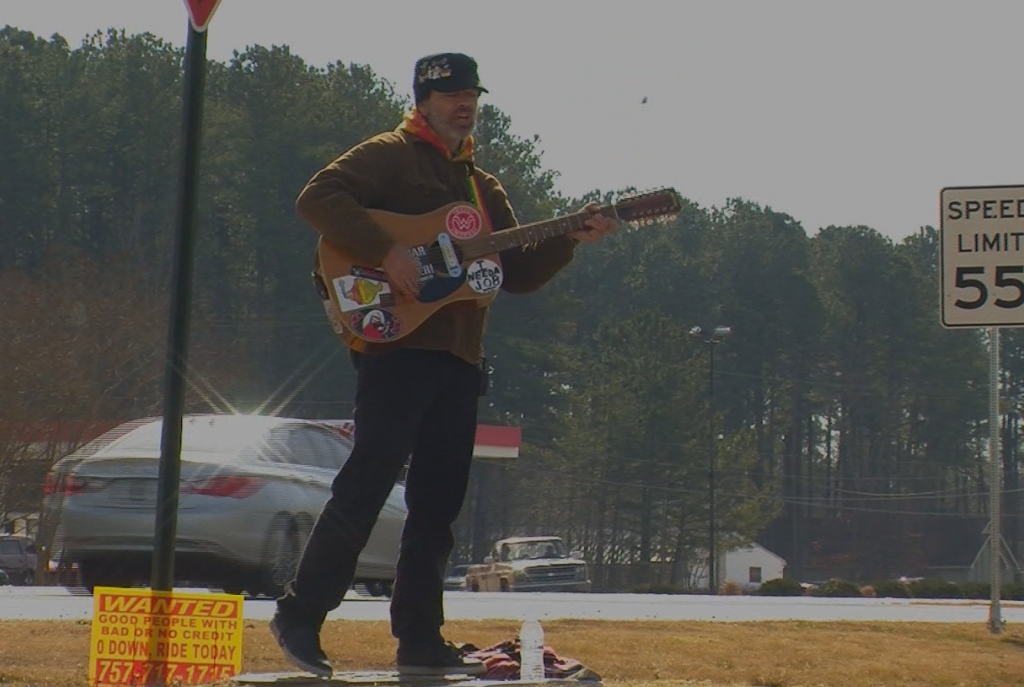 Travels With Charlie: Buskers