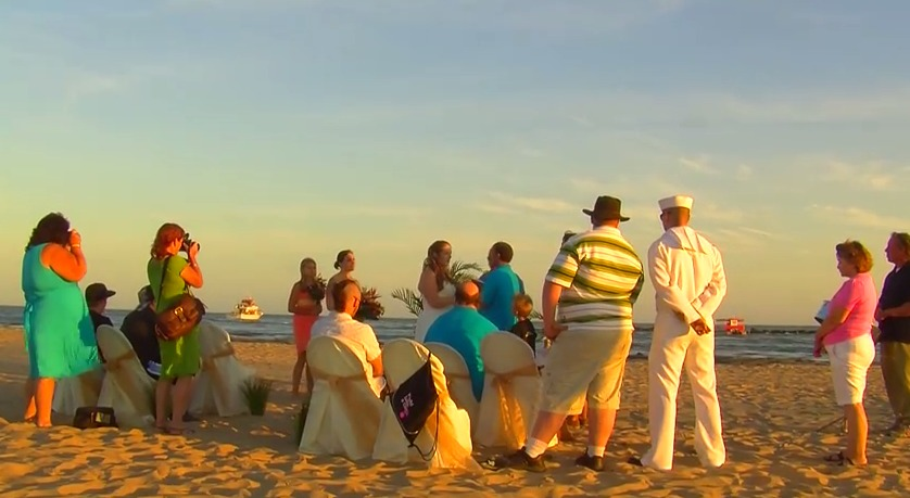 Travels With Charlie: Ocean City Wedding