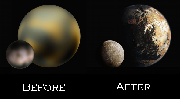 """Help Name A Surface Feature On Pluto – NASA's """"New Horizons"""" Space Mission"""