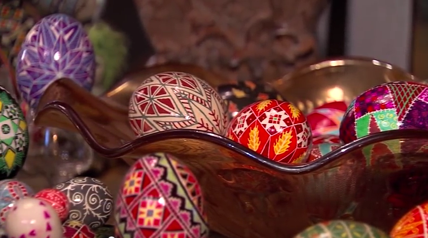 Learning the Art of Ukrainian Eggs – Tuesday, March 31, 2015