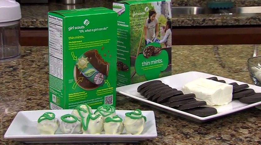 Thin Mint Truffles with Girl Scout Troop 1161 – Tuesday, March 31, 2015