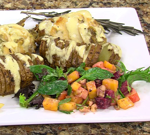 Stuffed Chicken Breast with Nancy Bolt – Greenhouse Cafe – Thursday, April 9, 2015
