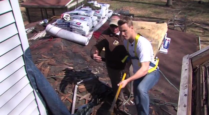 A Day in the Life of a Roofer – Spicer Bros. – Wednesday, April 15, 2015