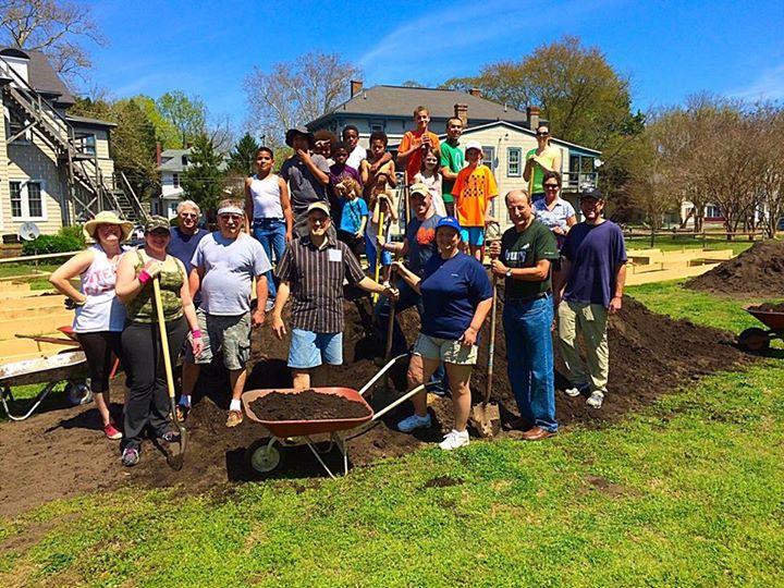Salisbury Garden Grows Community Spirit