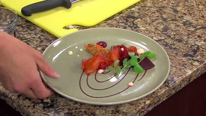 Cured Salmon with Chef Feeley – Eden Restaurant, Rehoboth Beach, Del.