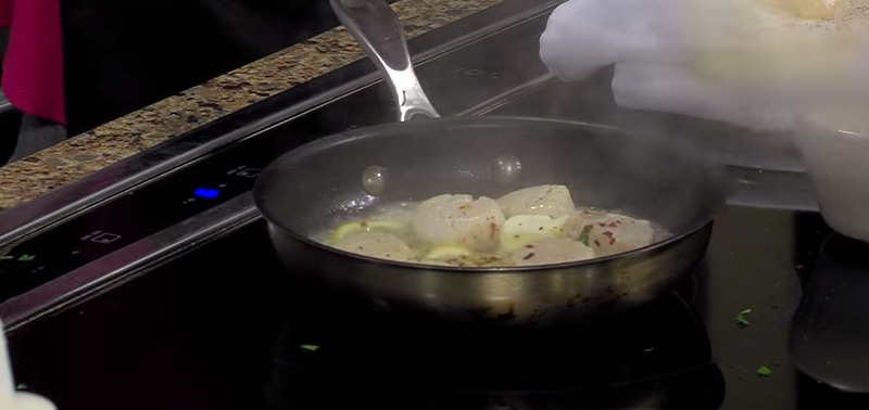 Sauteed Scallops with Chef Casey Cunningham from Matt's Fish Camp