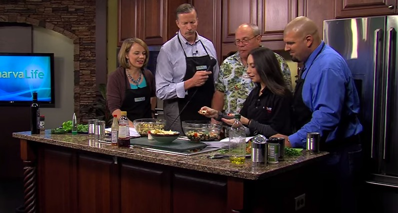 Caviar Recipe Challenge with Bill Baker & Jessica Martinez from Power 101.7 – Wednesday, May 13, 2015